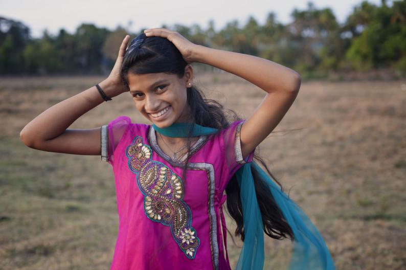 Двевушками знакомства с индисками