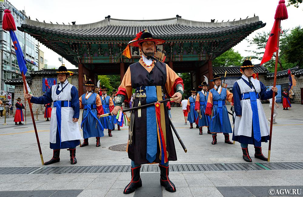 Корейские воины.