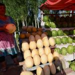 Узбекские дыни и арбузы на продажу.