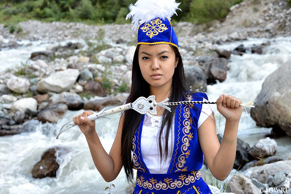 Кыргызская красавица