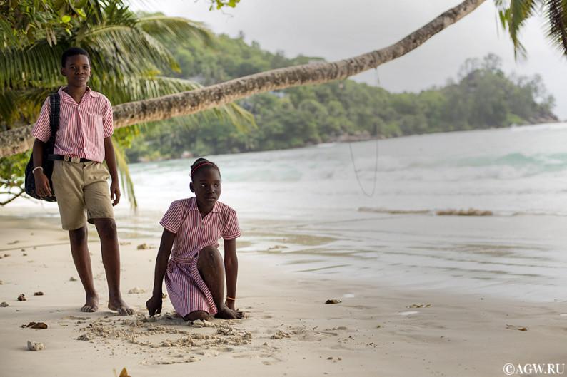 Сейшельские острова: Шон и Шерил