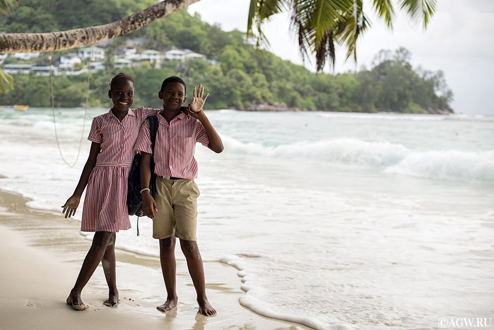Привет с Сейшельских Островов!