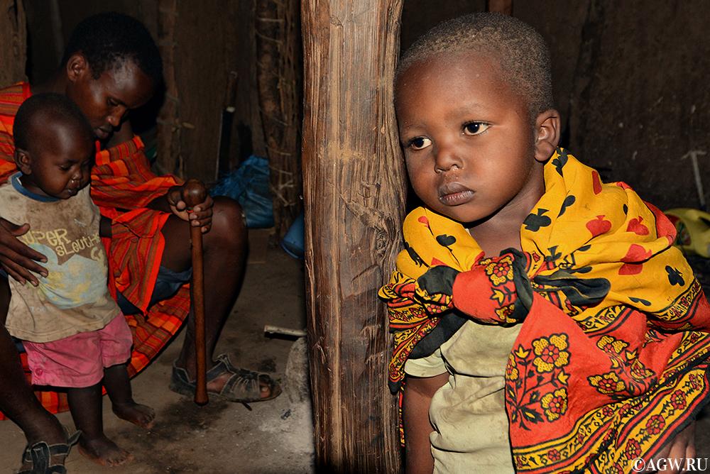 В хижине масаи