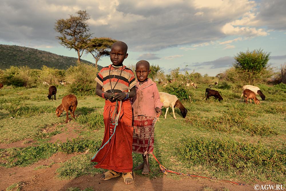 Постушки масаи