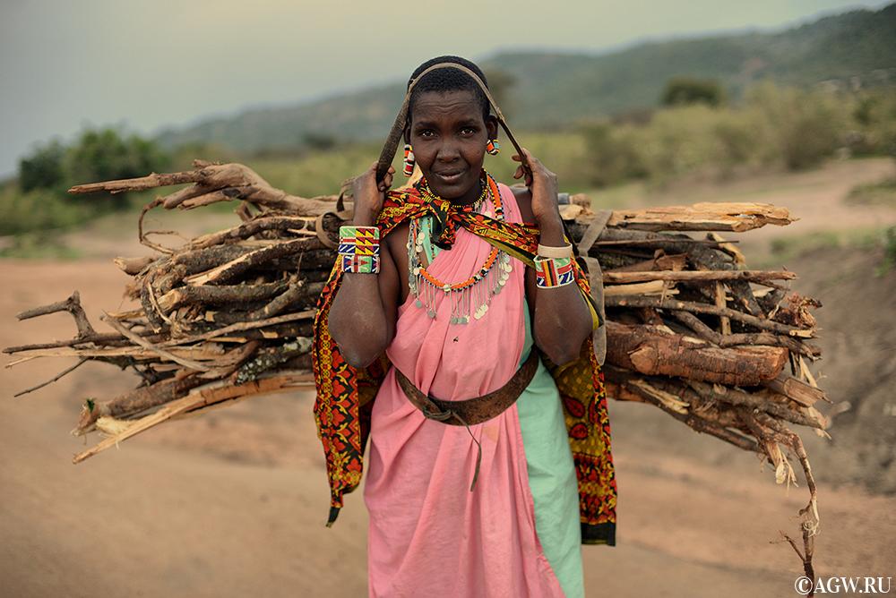 У масаи простая жизнь без стрессов