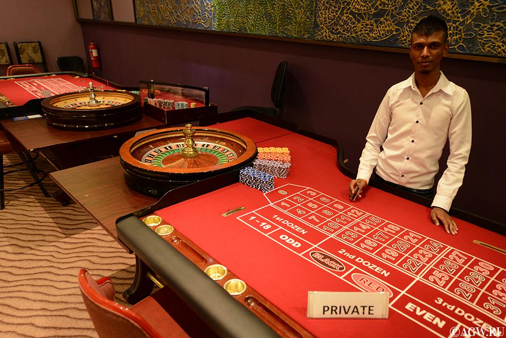 VIP-рулетка в казино Парадизо