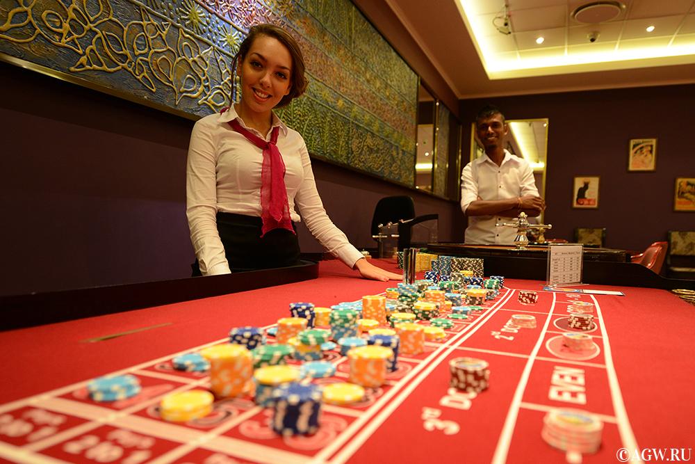 Рулетка в казино Парадизо