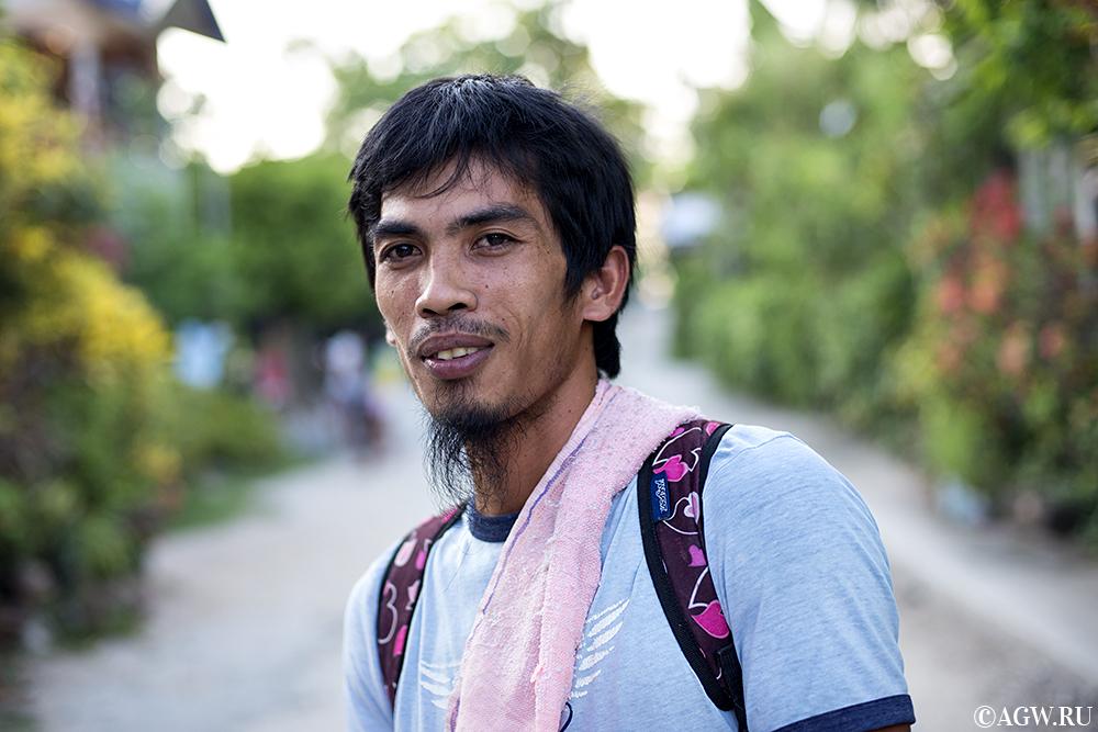 Филиппинский парень