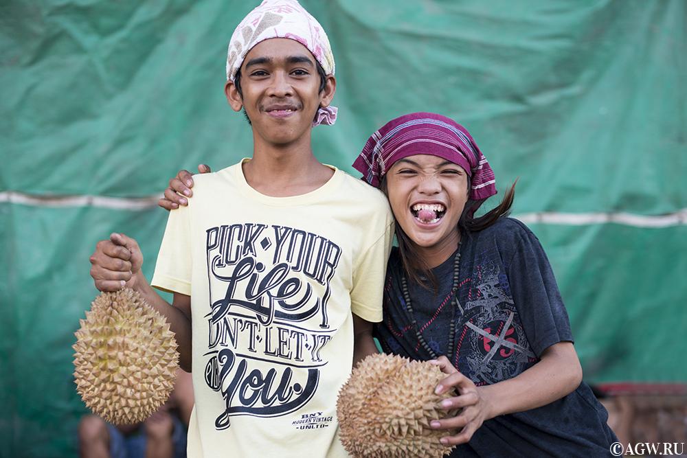 Продавцы дурианов