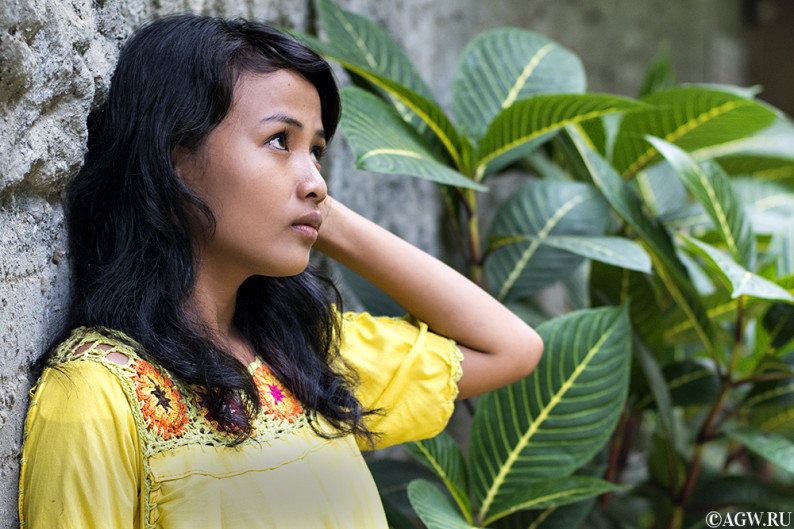 Эльвиана – индонезийская красавица с острова Суматра