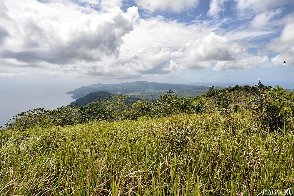 Южный вид на остров Самал