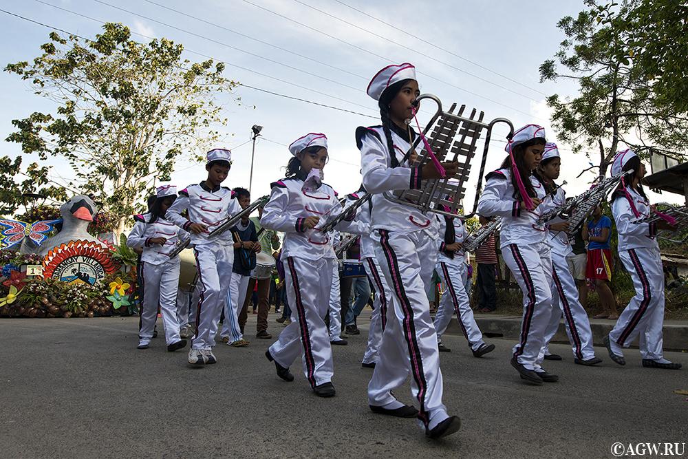 Парад в честь 17-летия города Самала