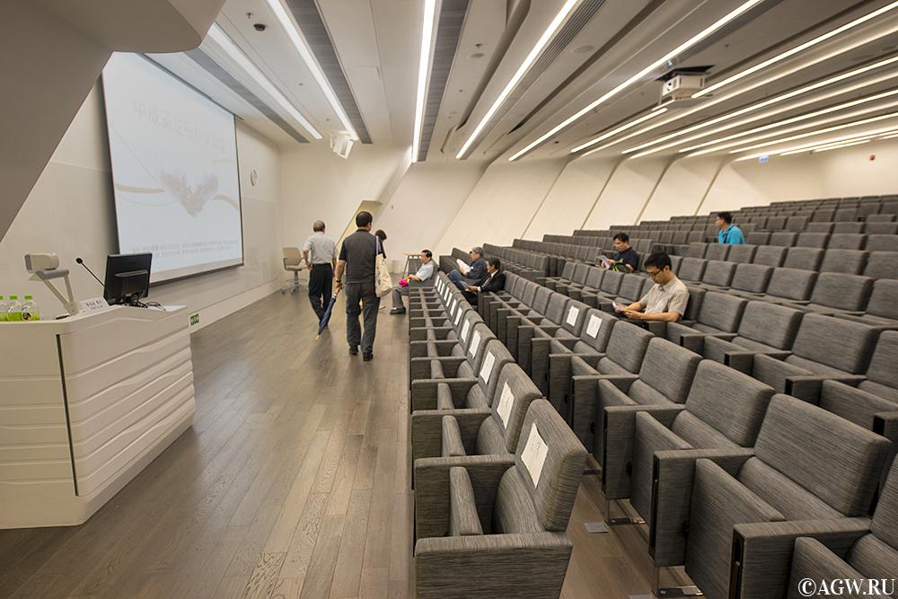 Зал для лекций в Башне Инноваций.
