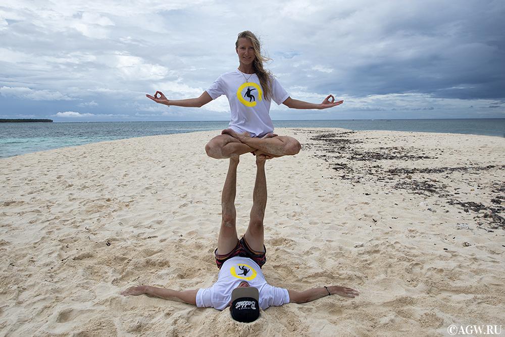 Парная йога на Филиппинах