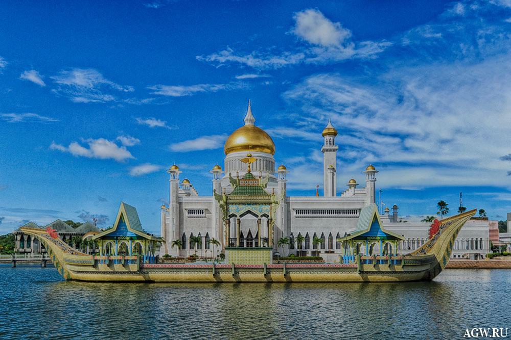 Дворец султана в Брунее