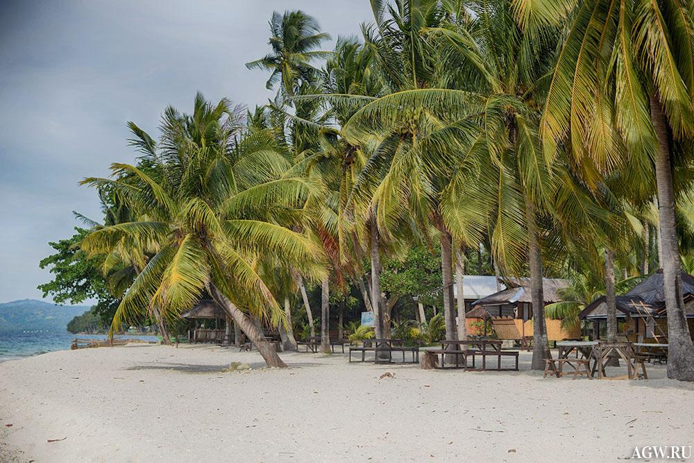 Остров Таликуд на Филиппинах