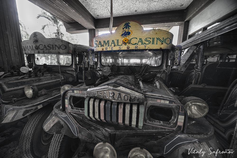 Автомобили казино на Самале